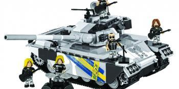 COBI Special Edition Brick Tank