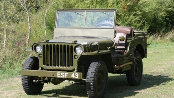 A Jeep that was gifted to General Dwight D. 'Ike' Eisenhower in recognition of his role as Supreme Allied Commander in World War Two is set to go on auction